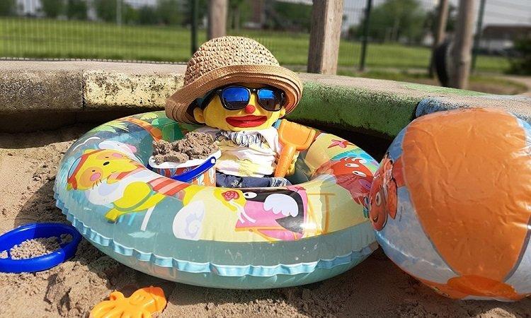 Een zonnige zomer met Puk