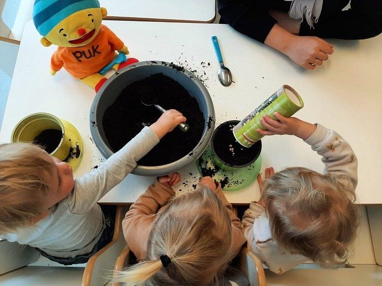 BLOS kinderdagverblijf Uk en Puk thema Vier de lente